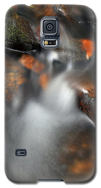 Galaxy S5 Case featuring the photograph Water Over Rocks by Kay Lovingood