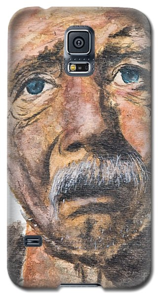 Watercolor Old Man Galaxy S5 Case