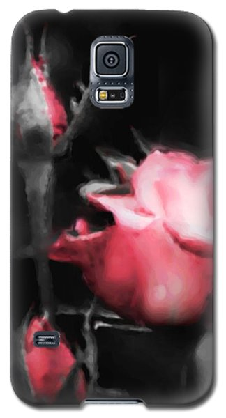 Galaxy S5 Case featuring the painting Watercolor Rose by Michelle Joseph-Long