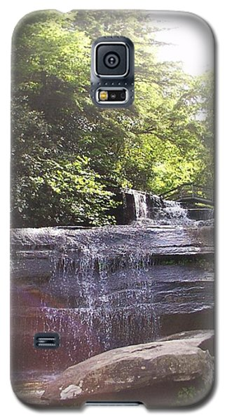 Galaxy S5 Case featuring the photograph Waterfall by Kelly Hazel