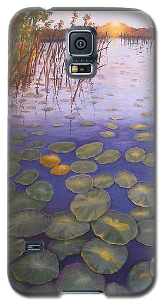 Waterlillies South Africa Galaxy S5 Case