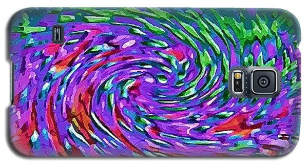 Galaxy S5 Case featuring the digital art Waterspout by Alec Drake