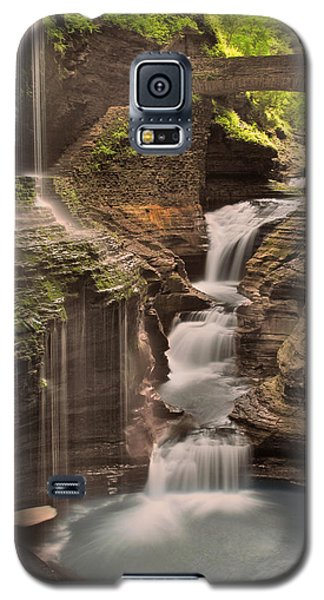 Watkins Glen Gorge Galaxy S5 Case by Cindy Haggerty