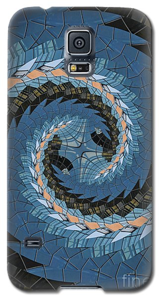 Galaxy S5 Case featuring the photograph Wave Mosaic. by Clare Bambers