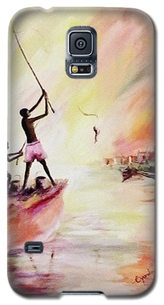 We Fished Galaxy S5 Case by Oyoroko Ken ochuko