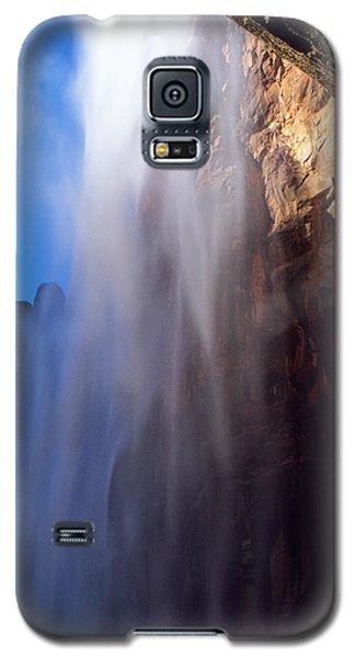 Weeping Rock Waterfall Galaxy S5 Case