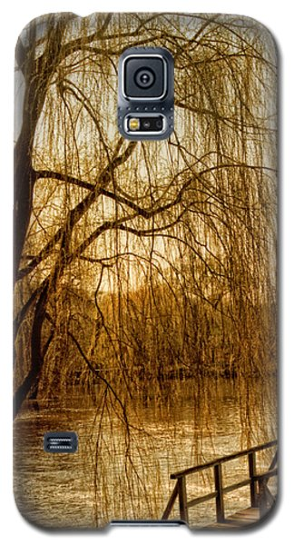 Weeping Willow And Bridge Galaxy S5 Case
