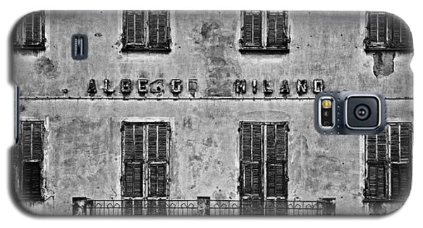 Galaxy S5 Case featuring the photograph Welcome To The Hotel Milano by Andy Prendy
