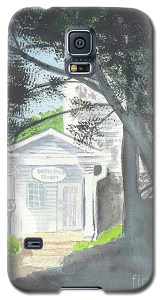 Galaxy S5 Case featuring the painting Wellers Carriage House 1 by Yoshiko Mishina