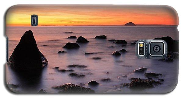 West Coast Sunset Galaxy S5 Case