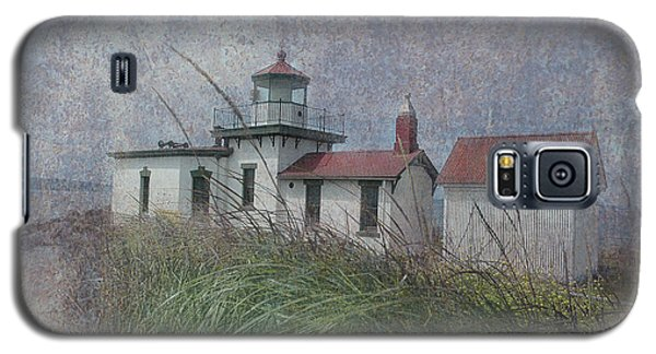 West Point Lighthouse - Seattle Galaxy S5 Case by Jeff Burgess