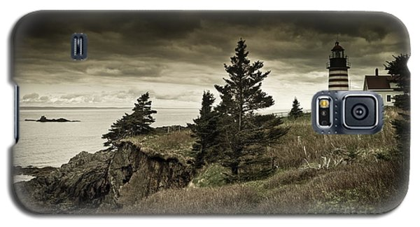 Galaxy S5 Case featuring the photograph West Quoddy Head Lighthouse by Alana Ranney