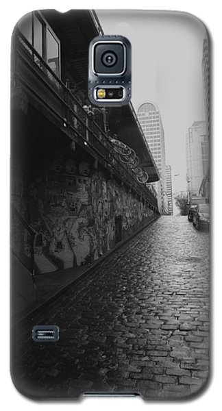 Galaxy S5 Case featuring the photograph Wet Cobbles by Mitch Shindelbower