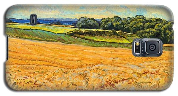 Wheat Field In Limburg Galaxy S5 Case