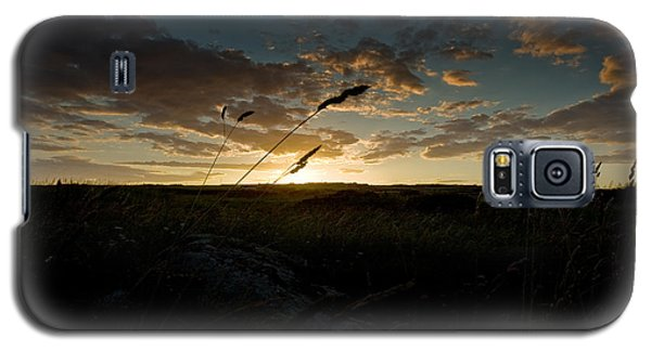 Galaxy S5 Case featuring the photograph Wheat Fields  by Beverly Cash