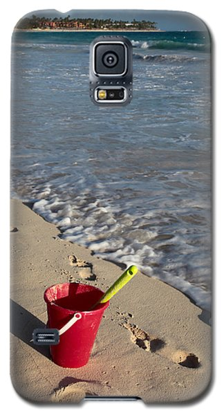 When Can We Go To The Beach? Galaxy S5 Case by Karen Lee Ensley
