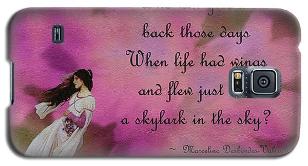 When Life Had Wings Galaxy S5 Case