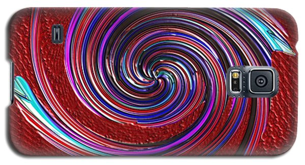 Galaxy S5 Case featuring the digital art When The Stirring Stops by Alec Drake