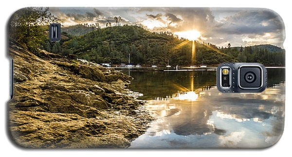 Galaxy S5 Case featuring the photograph Whiskeytown Lake Sunrise by Randy Wood