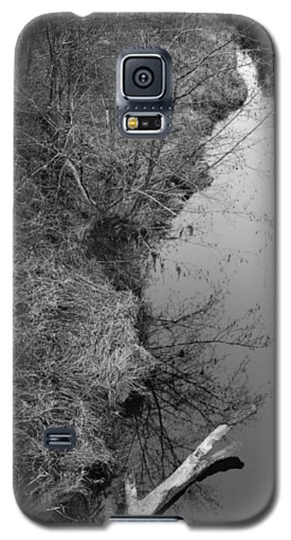 White Branch Riverside  Galaxy S5 Case