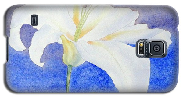 White Lily Galaxy S5 Case