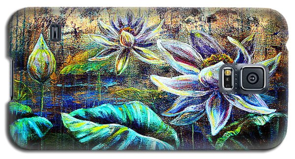 White Lotus Galaxy S5 Case