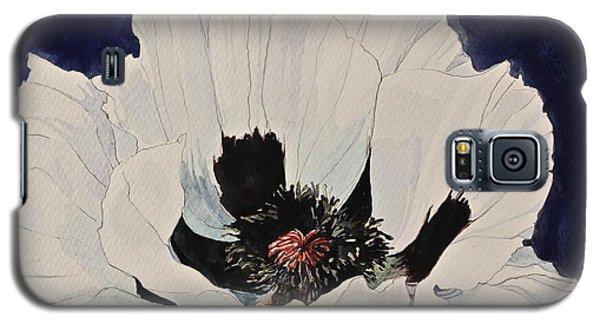 White Poppy-posthumously Presented Paintings Of Sachi Spohn  Galaxy S5 Case