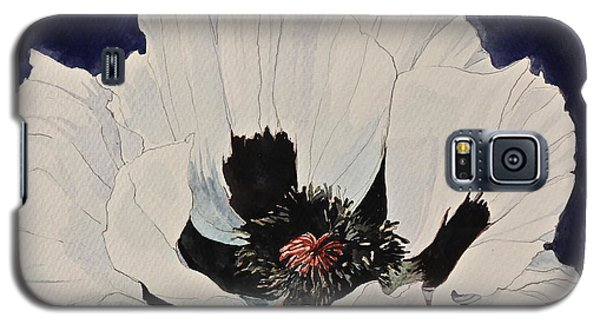 White Poppy-posthumously Presented Paintings Of Sachi Spohn  Galaxy S5 Case