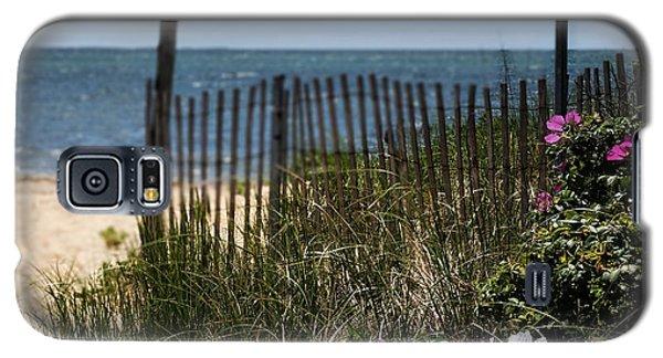 Wild Beach Rose - Cape Cod Galaxy S5 Case