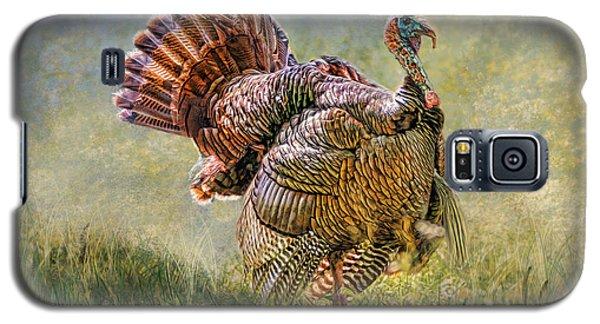 Galaxy S5 Case featuring the digital art Wild Turkey by Mary Almond