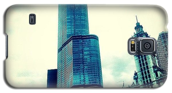 Movie Galaxy S5 Case - Willis Tower In #chicago by The Fun Enthusiast