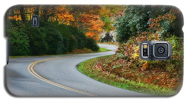 Galaxy S5 Case featuring the photograph Winding Road by Joan Bertucci