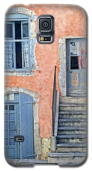 Galaxy S5 Case featuring the photograph Window And Doors Provence France by Dave Mills