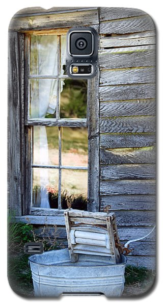 Window On Prairie Life Galaxy S5 Case