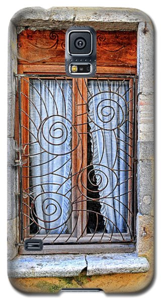 Galaxy S5 Case featuring the photograph Window Provence France by Dave Mills