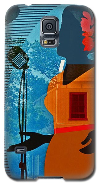 Galaxy S5 Case featuring the photograph Window To My Soul by Barbara McMahon