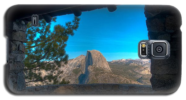 Window View Half Dome Galaxy S5 Case