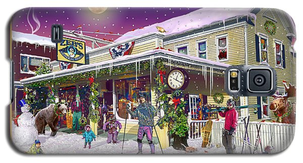 Winter At Zebs General Store In North Conway Nh Galaxy S5 Case