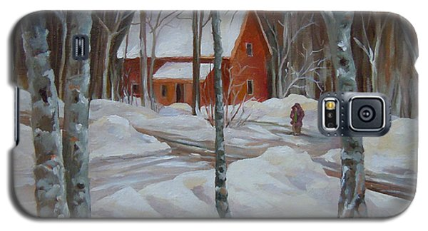 Winter In The Woods Galaxy S5 Case