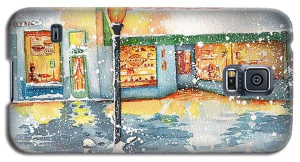 Winter On Whiskey Row Prescott Arizona Galaxy S5 Case by Sharon Mick