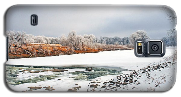 Winter Red River 2012 Galaxy S5 Case