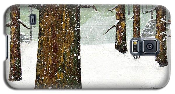 Wintering Pines Galaxy S5 Case