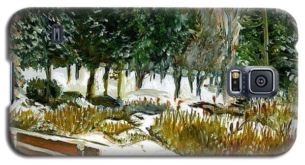 Winter's Invitation Galaxy S5 Case