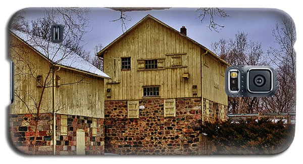 Galaxy S5 Case featuring the photograph Winters Mill by Rachel Cohen