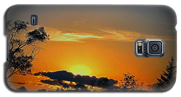 Wisconsin Sunset Galaxy S5 Case