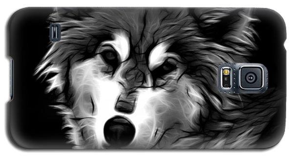 Wolf - Greyscale Galaxy S5 Case