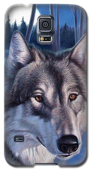 Wolf In Moonlight Galaxy S5 Case