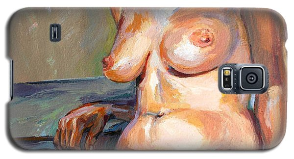 Woman Nude Galaxy S5 Case by Stan Esson
