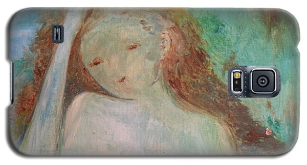 Woman Of Sorrows Galaxy S5 Case by Laurie L