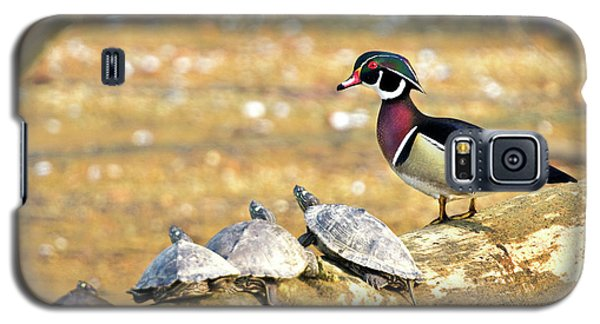 Wood Duck And Four Friends Galaxy S5 Case